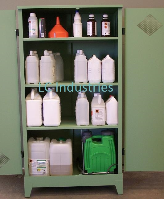 Armoire phytosanitaire ouverte - LC Industries